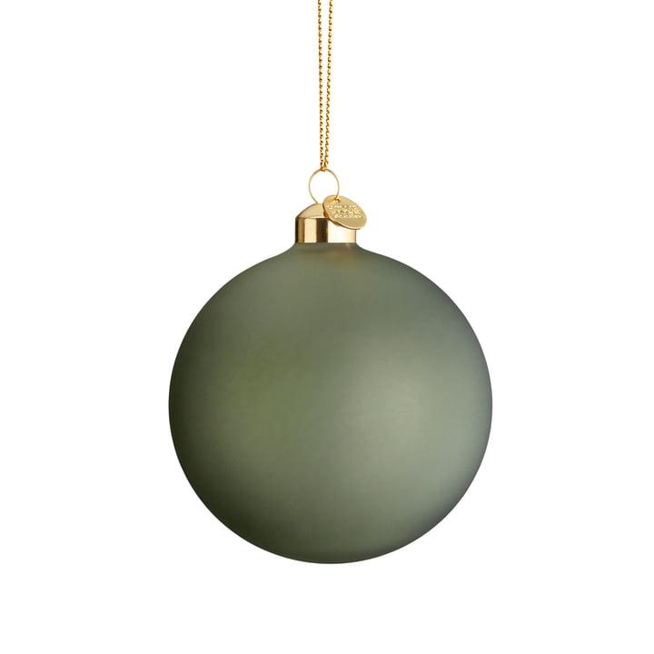 Die Souvenir Weihnachtskugel, Ø 8 cm, grün von Holmegaard