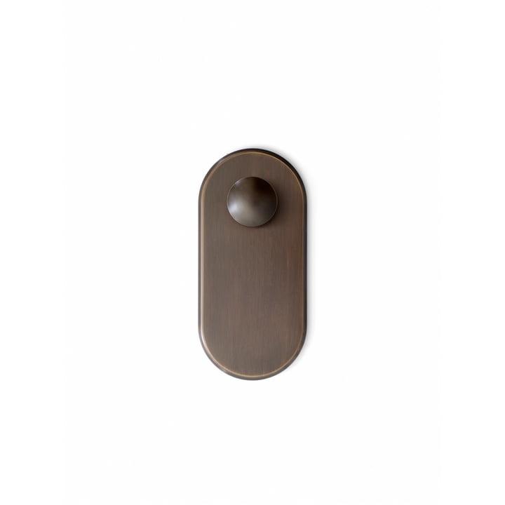 Der Collect Wandhaken SC46, bronze von &tradition