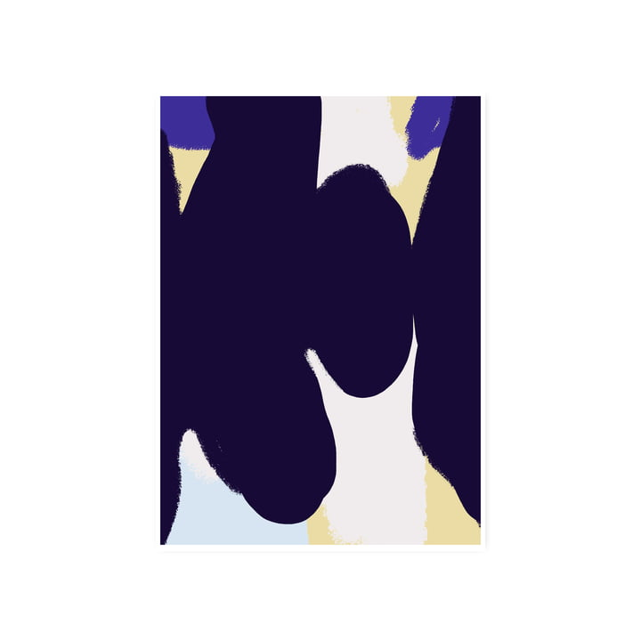 Das Ink Grain 01 Poster, 50 x 70 cm von Paper Collective
