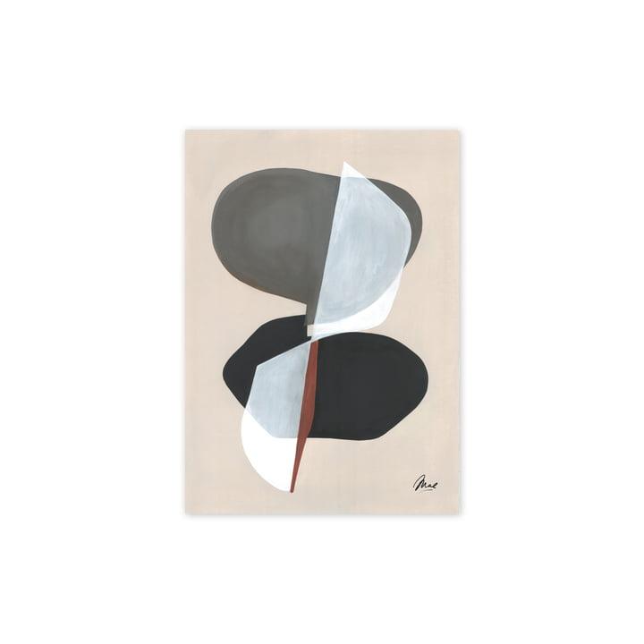 Das Composition 01 Poster, 30 x 40 cm von Paper Collective