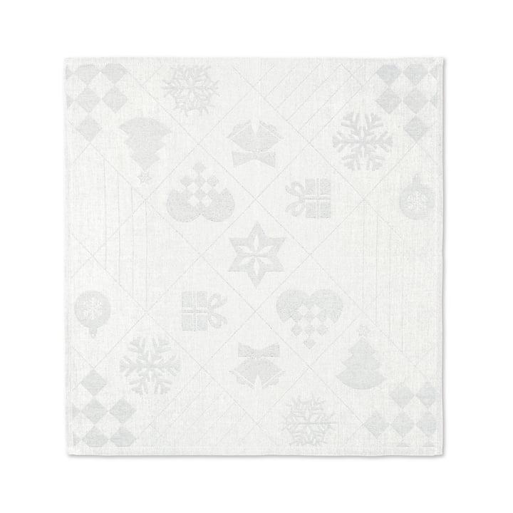 Natale Stoffservietten, 45 x 45 cm, off-white von Juna