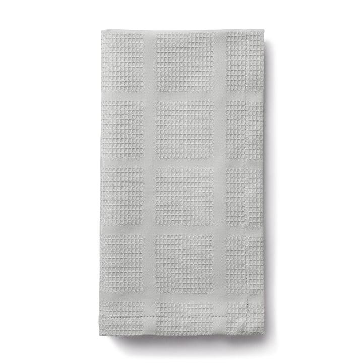 Brick Stoffservietten, 45 x 45 cm, grau von Juna