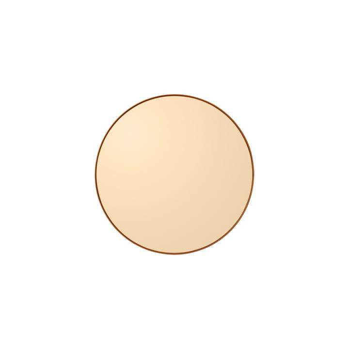 Der Circum Wandspiegel extra small, Ø 50 cm, amber von AYTM