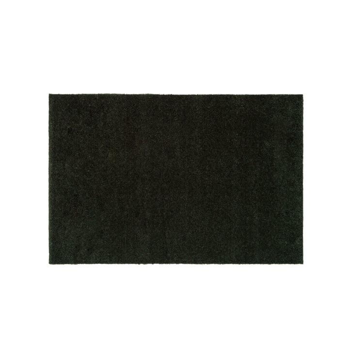 Die Fußmatte Unicolor in dunkelgrün von tica copenhagen