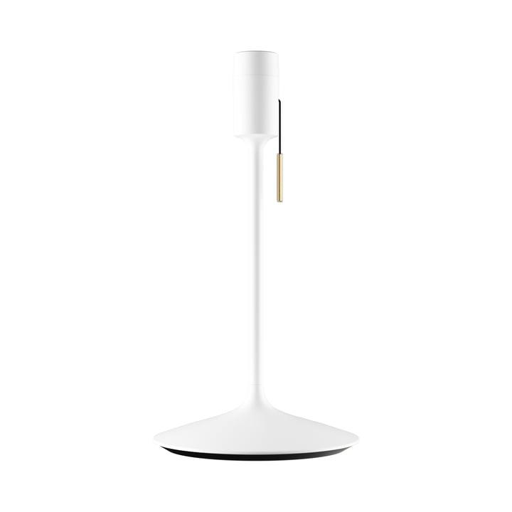 Champagne Tischleuchtenfuß H 42 cm von Umage in weiß