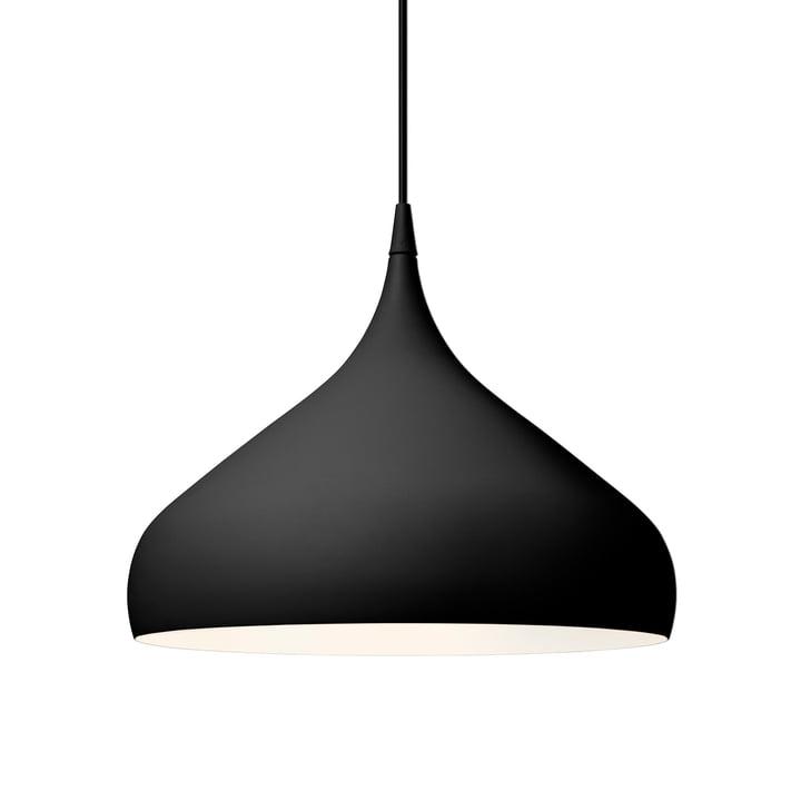 Spinning Pendelleuchte BH2 Ø 40 cm von &tradition in schwarz matt