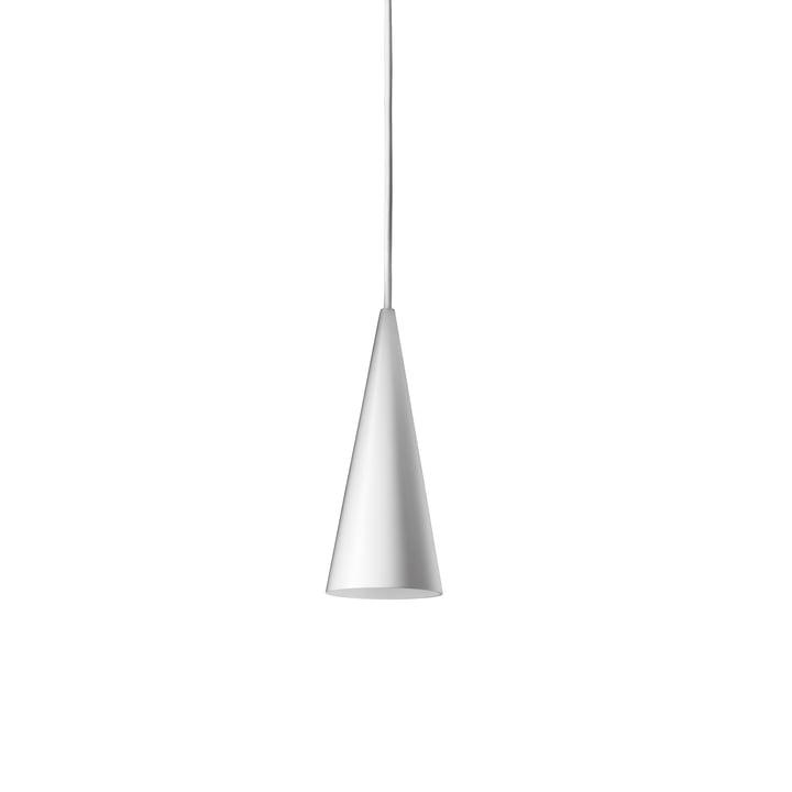 Die w201 Extra Small LED Pendelleuchte S1 von Wästberg in weiß
