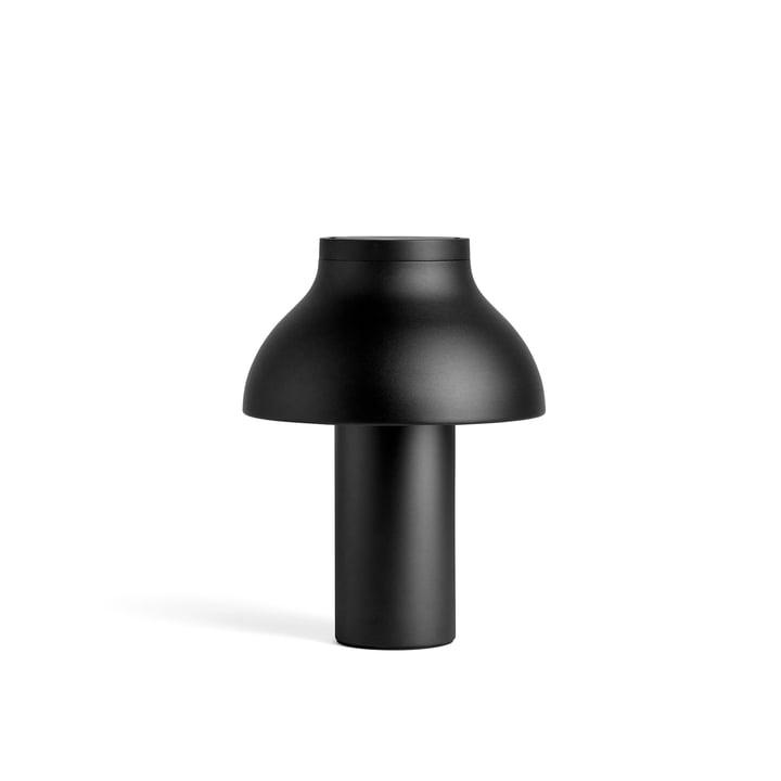 PC Tischleuchte S, Ø 25 x H 33 cm, soft black von Hay