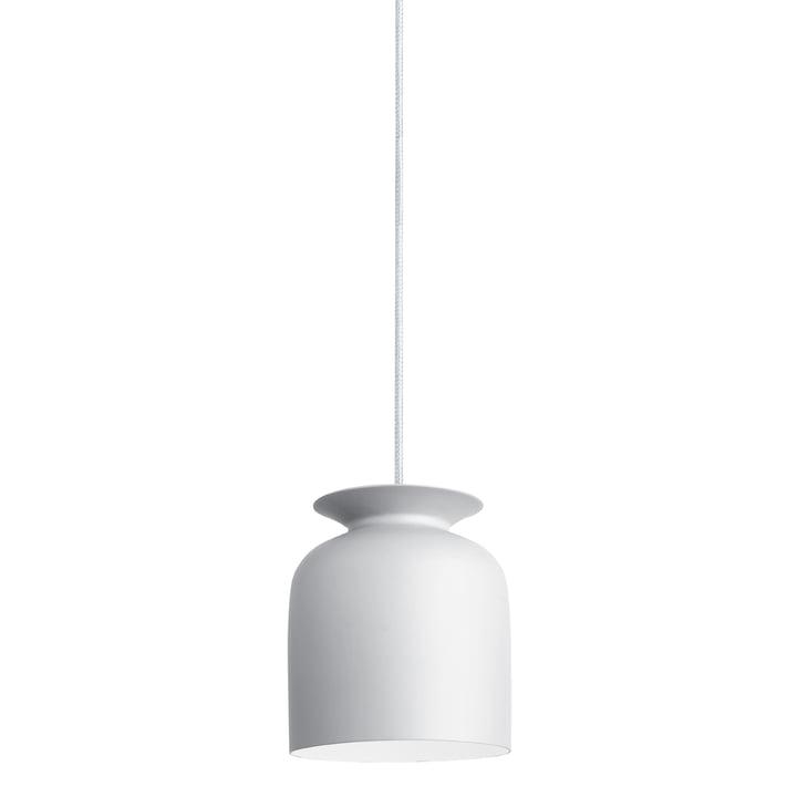 Gubi - Ronde Pendelleuchte, Ø 20 cm, weiß