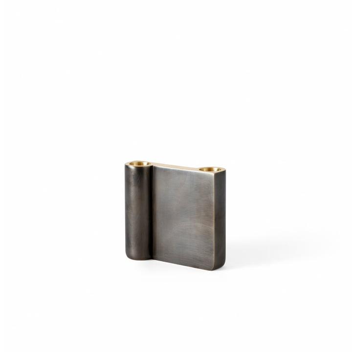 Der kleine Collect Kerzenhalter von &Tradition, bronziertes Messing