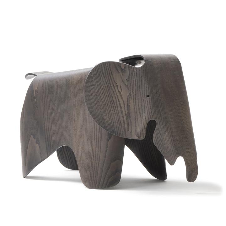 Eames Elephant Plywood, Esche, grau gebeizt (75. Jubiläums-Edition) von Vitra