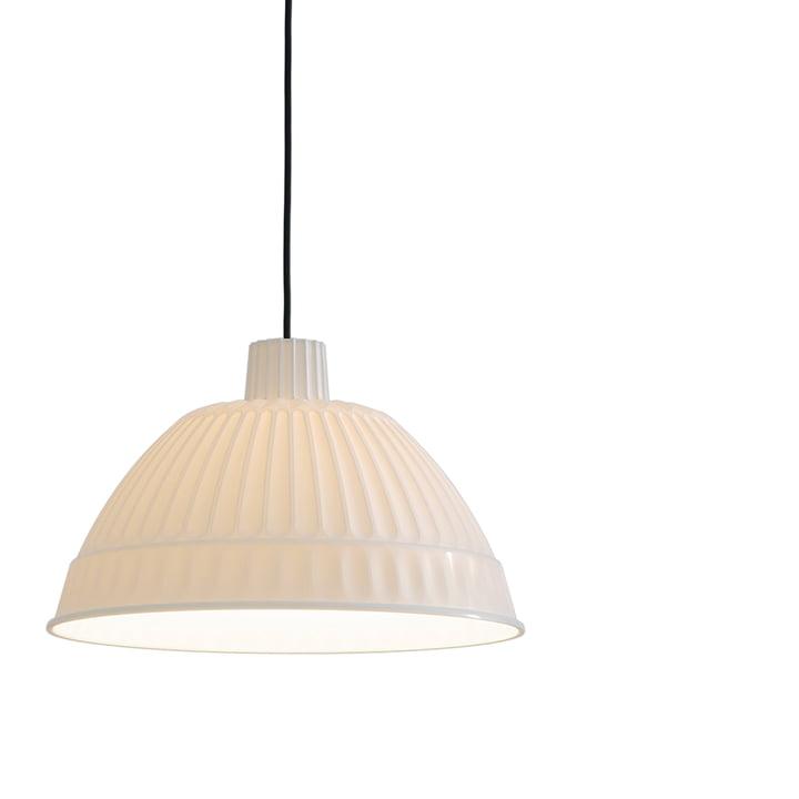 FontanaArte - Cloche Pendelleuchte, transluzent weiß
