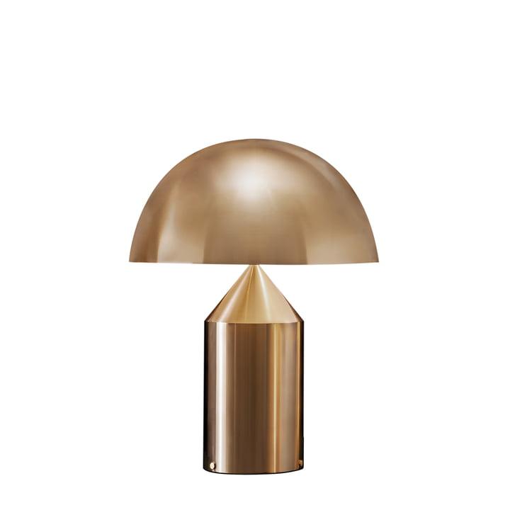 Atollo Tischleuchte 238, gold von Oluce