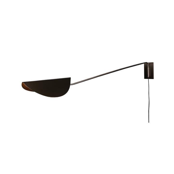 Plume Wandleuchte 80 cm, bronze von Oluce