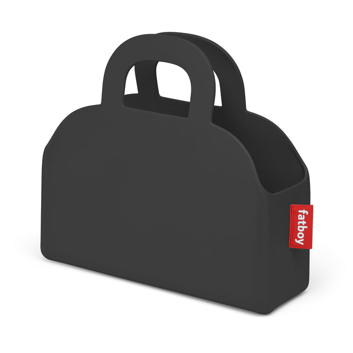 Sjopper-Kees Tasche und Aufbewahrungskorb, anthrazit von Fatboy