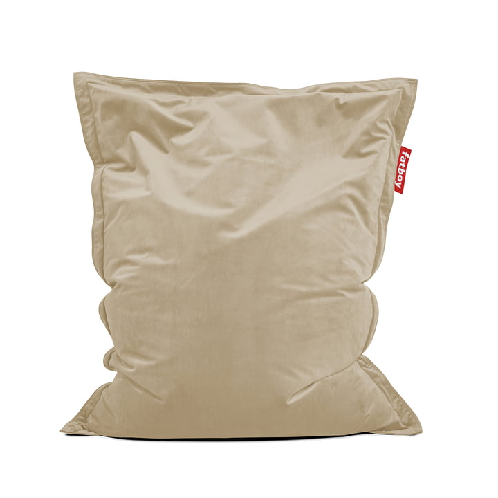 Sitzsack Original Slim Velvet recycled, camel von Fatboy