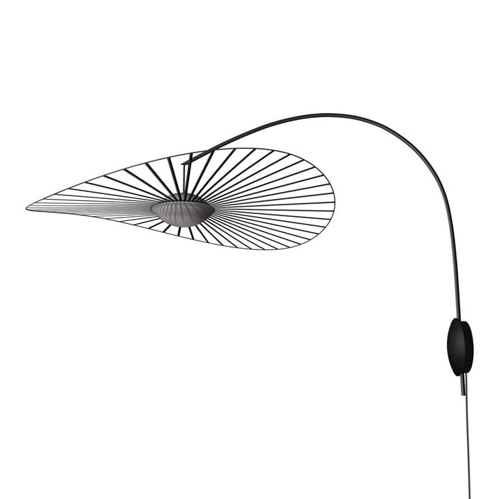 Die Vertigo Nova Wandleuchte von Petite Friture, Ø 110 cm, schwarz