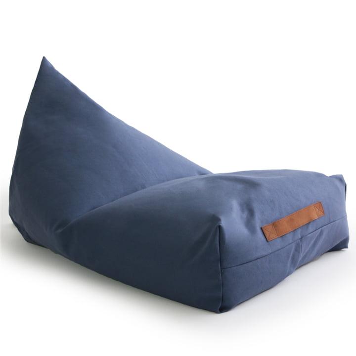 Der Oasis Kinder-Sitzsack von Nobodinoz in aegean blue