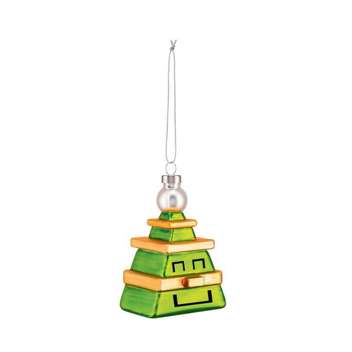 Der Cubik Tree Christbaumschmuck von Alessi
