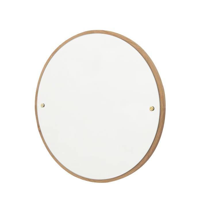 CM-1 Circle Wandspiegel Ø 45 cm, Eiche geölt von Frama