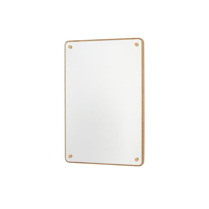 RM-1 Rectangular Spiegel H 58 cm, Eiche geölt von Frama