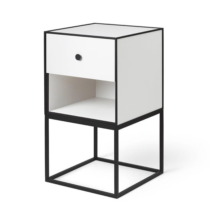 Frame Sideboard 35 (inkl. Schublade), weiß von by Lassen