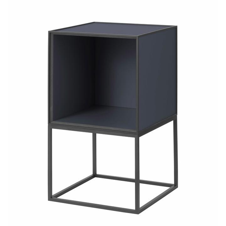 Frame Sideboard 35, dunkelblau von by Lassen