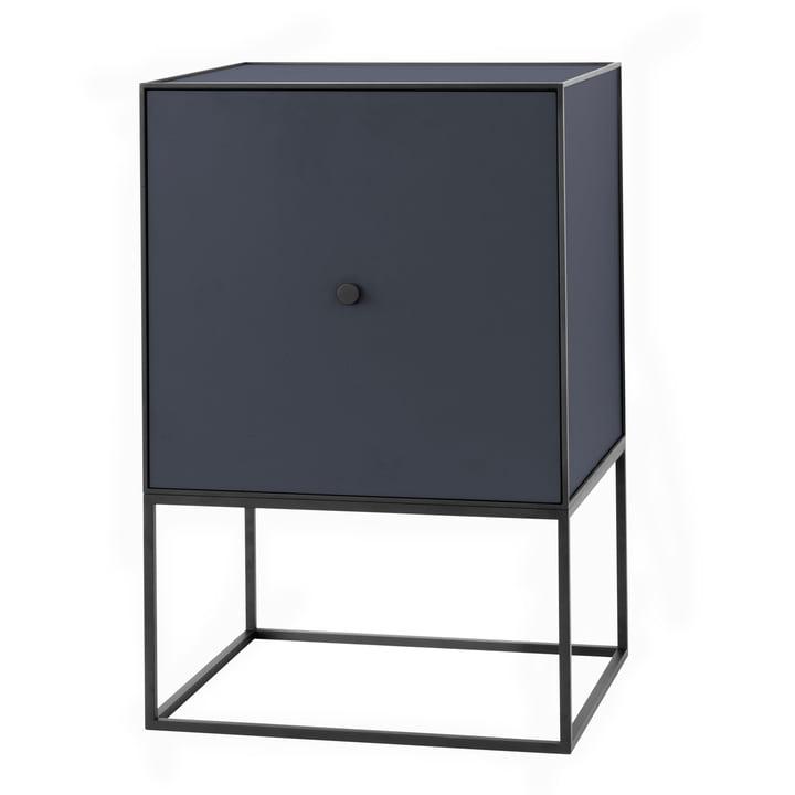 Frame Sideboard 49 (inkl. Tür & Regalboden), dunkelblau von by Lassen