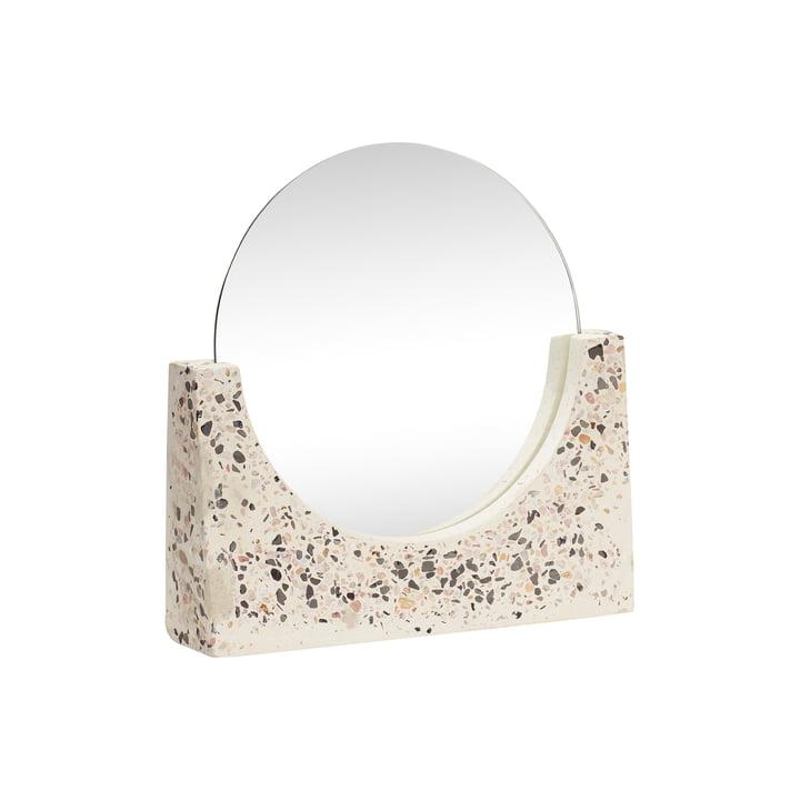 Terrazzo Tischspiegel, klein von Hübsch Interior