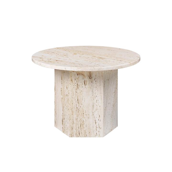 Epic Coffee Table, Ø 60 cm, neutral white von Gubi