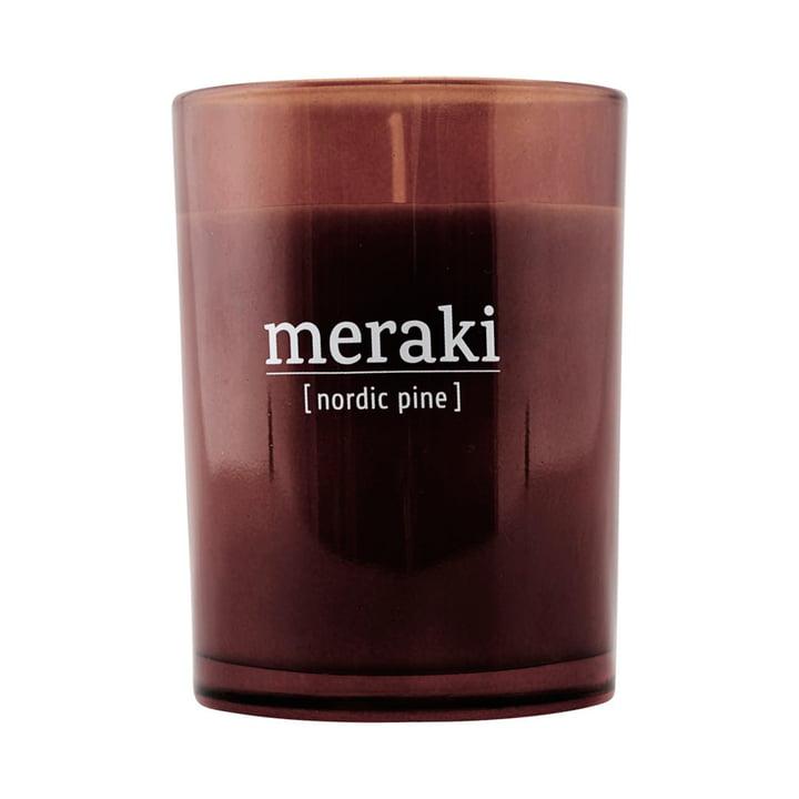 Die Duftkerze Nordic pine von Meraki, Ø 8 cm