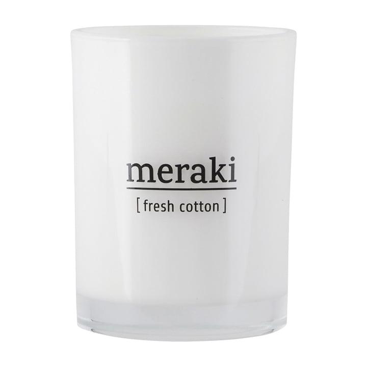 Die Duftkerze Fresh Cotton von Meraki, Ø 8 cm
