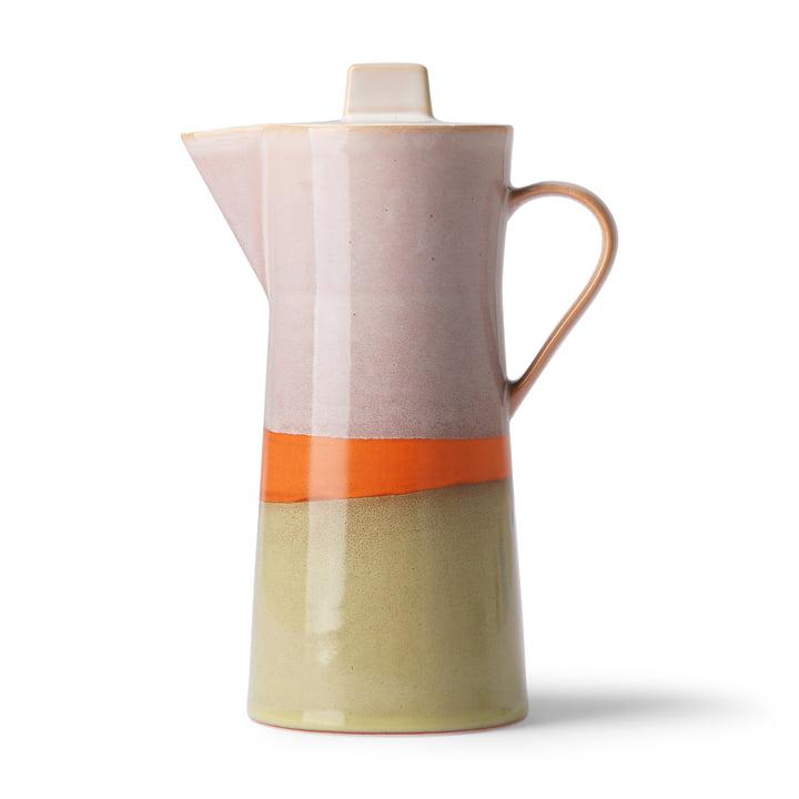 70's Kaffeekanne, mehrfarbig von HKliving
