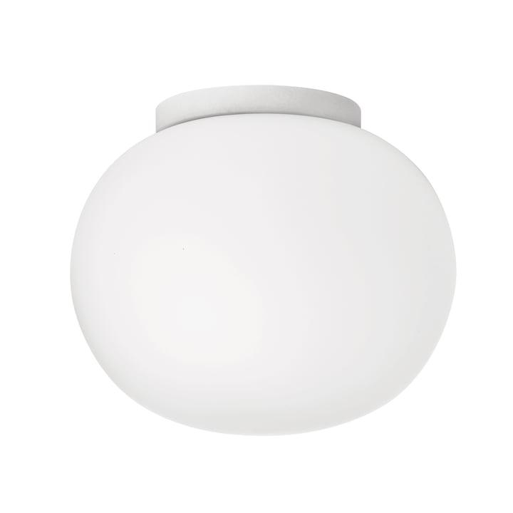 Mini Glo-Ball Wand- und Deckenleuchte Ø 11,2 cm von Flos in weiß