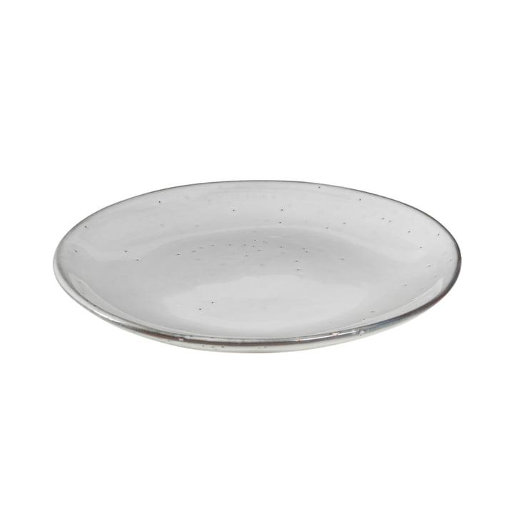 Nordic Sand Dessert-Teller Ø 20 x H 2,2 cm von Broste Copenhagen