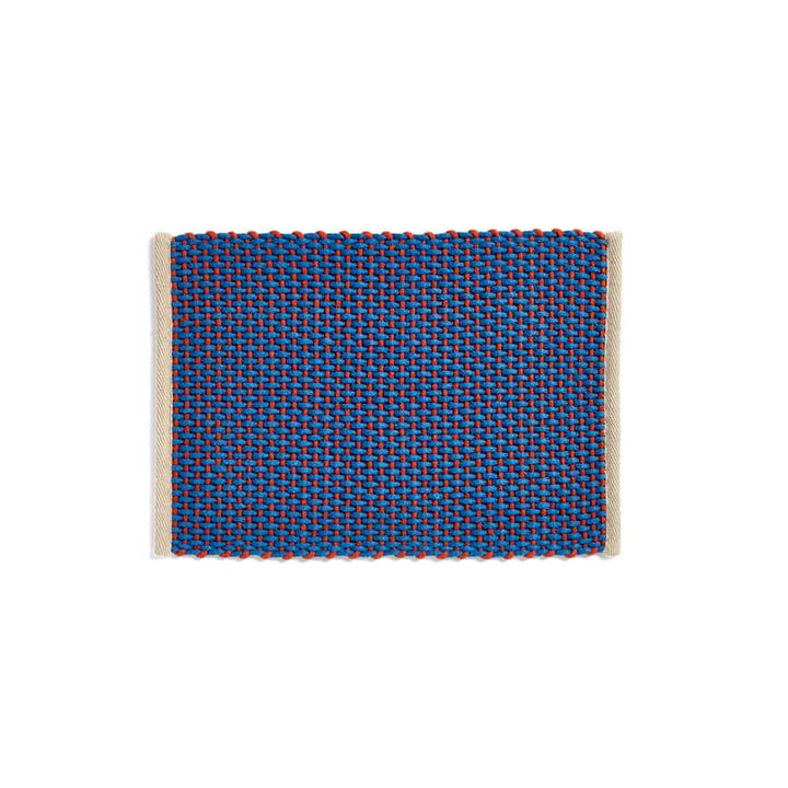 Door Mat Fußabtreter, 50 x 70 cm, blau von Hay