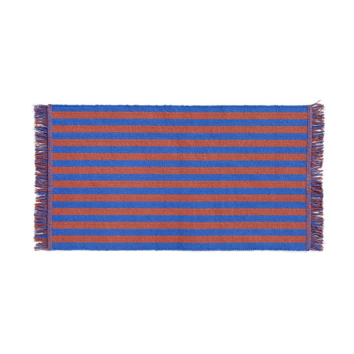Stripes Fußmatte, 52 x 95 cm, cacao sky von Hay