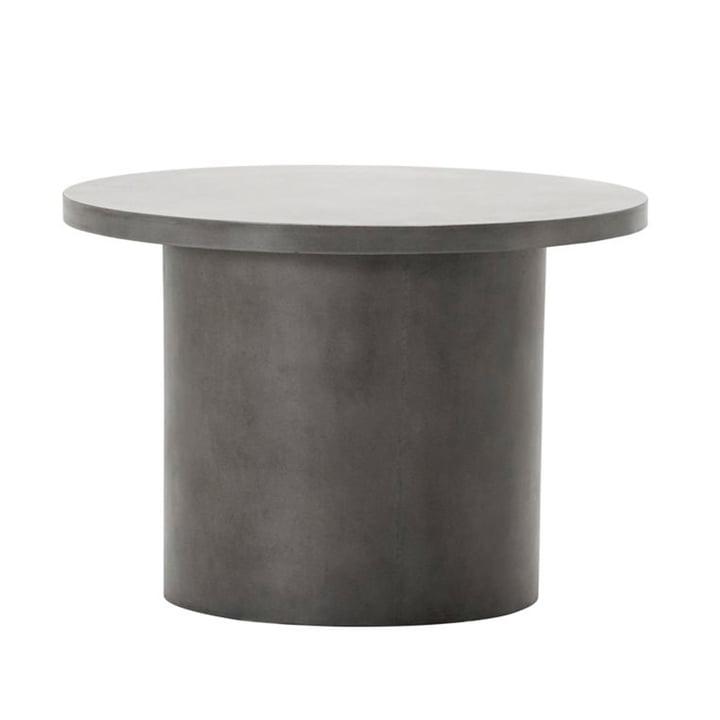 Der Stone Beton Beistelltisch von House Doctor in grau, Ø 65 cm