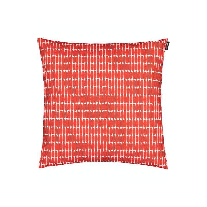 Der Alku Kissenbezug  von Marimekko, 45 x 45 cm, weiß / rot