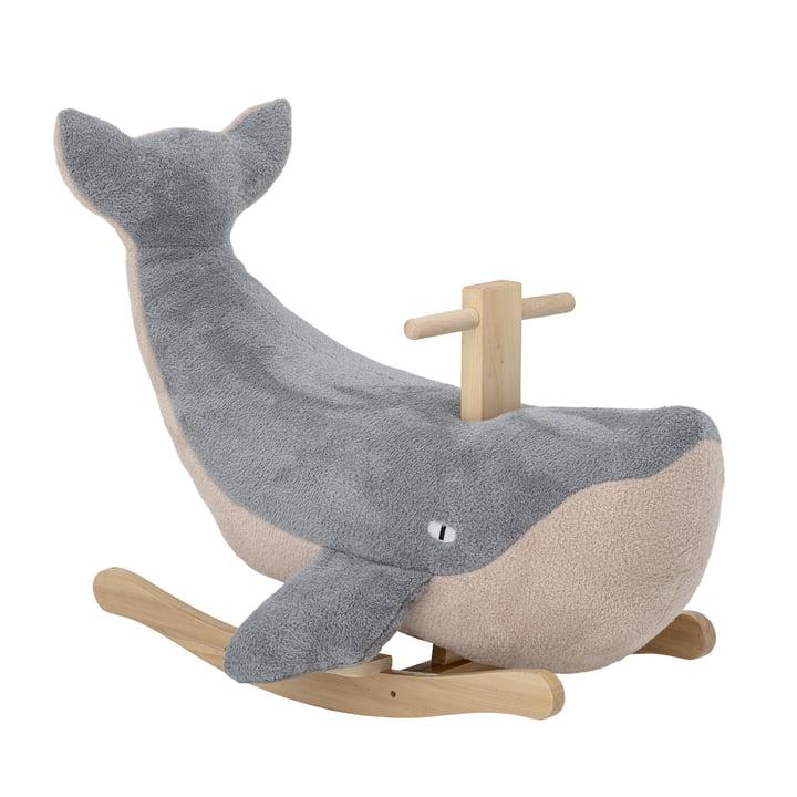 Moby Wal Schaukeltier von Bloomingville in blau