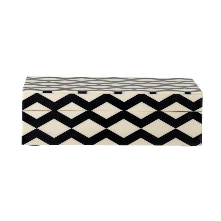 Die Jen Box von Bloomingville in schwarz, 12,5 x 21 cm