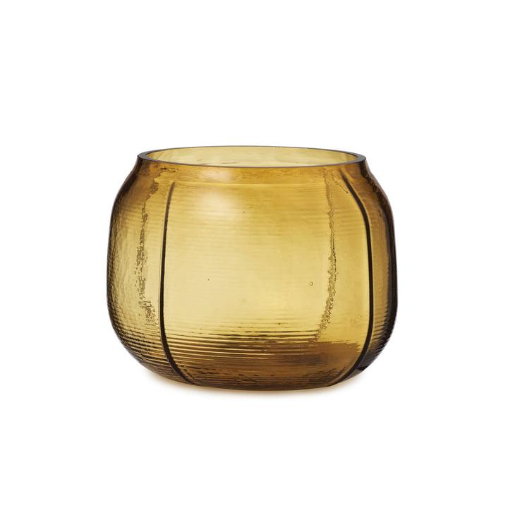 Die Step Vase von Normann Copenhagen, H 16 cm, braun