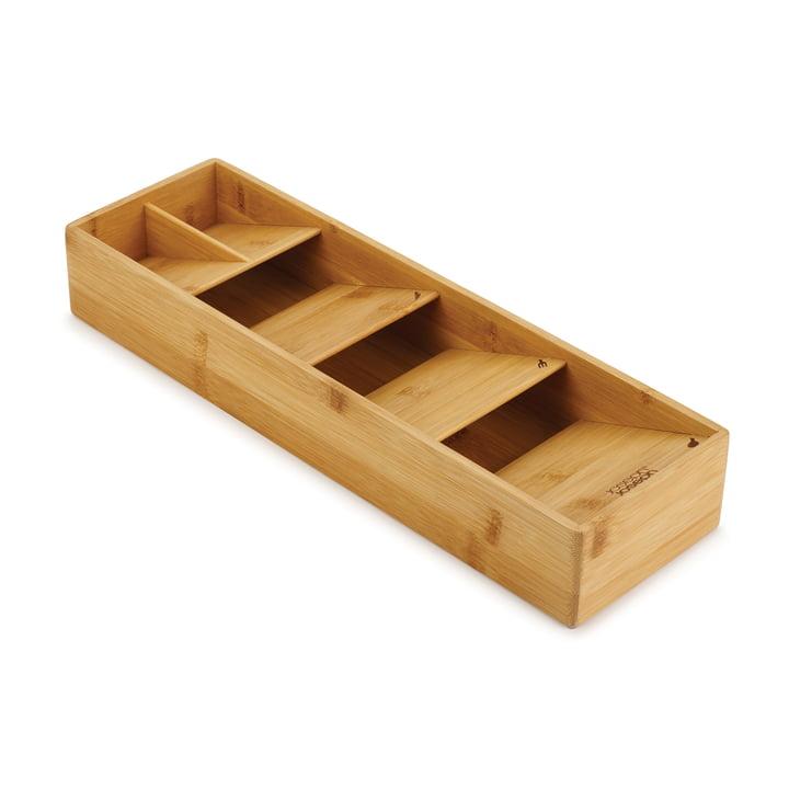 Der DrawerStore Bamboo Besteck Organizer von Joseph Joseph in kompakt