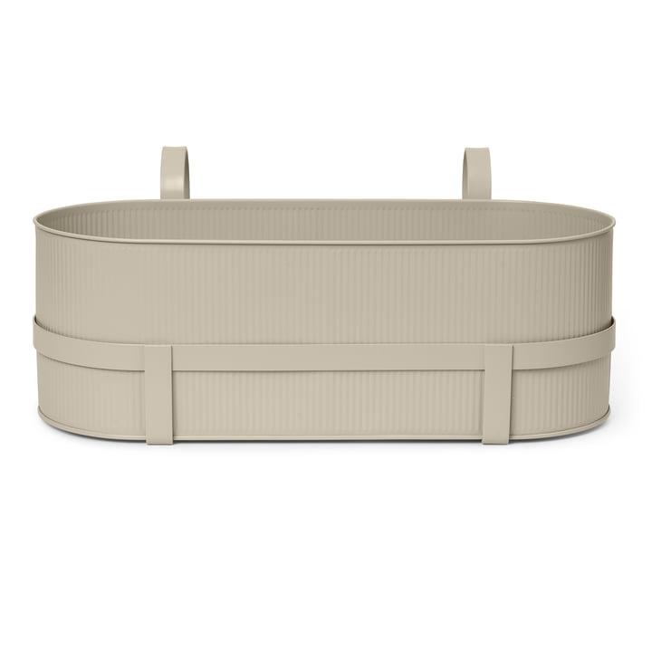 Die Bau Balcony Box von ferm Living in cashmere