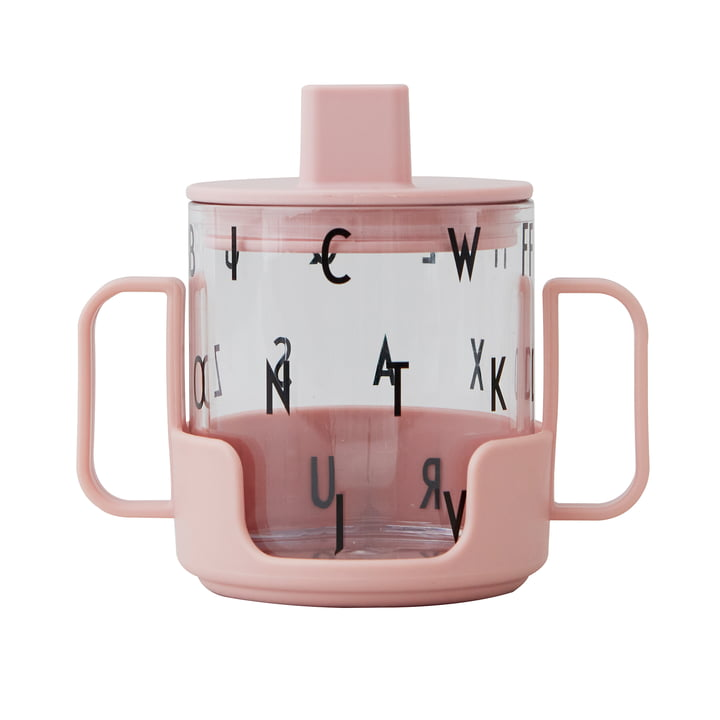 Das Grow with your Glass Starter Set Kinder Trinkglas von Design Letters in nude (3tlg.)