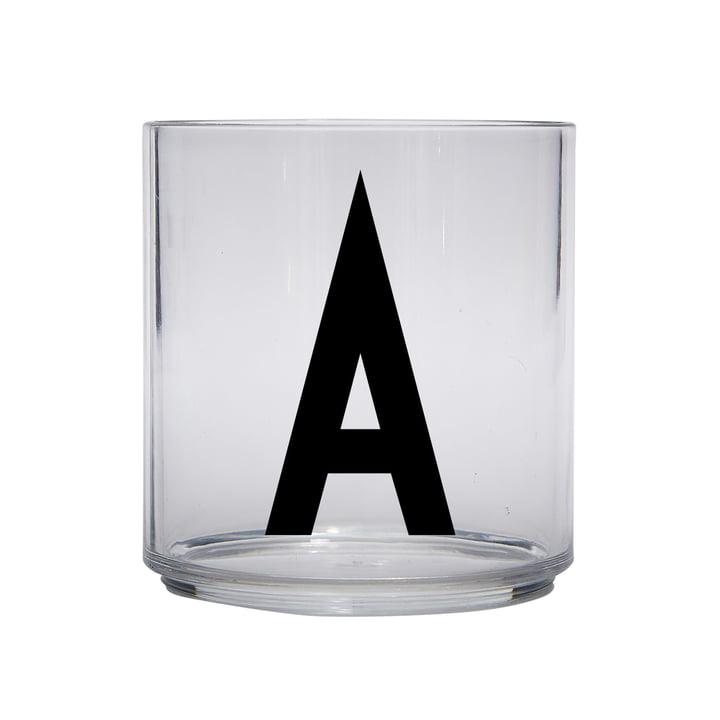 Das AJ Kids Personal Trinkglas, A von Design Letters