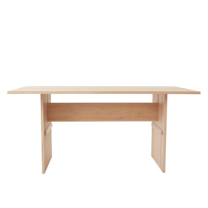 Der Kotai Tisch von OYOY, 160 x 80 cm, Eiche weiß pigmentiert