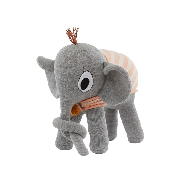 OYOY - Strick-Kuscheltier, Elephant Ramboline