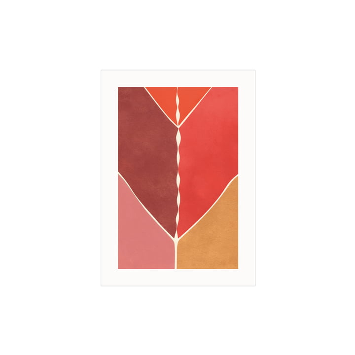 Das Navigation Poster von Paper Collective, 30 x 40 cm