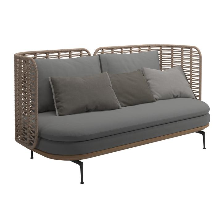 Das Mistral Sofa von Gloster in grau